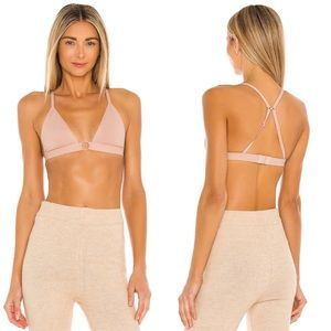 Free People Oh Scuba Bralette Antique Shell XS NWT